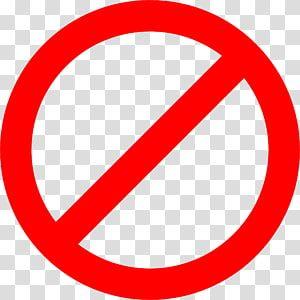 No Signage Stop Sign No Symbol Warning Sign Red Block Sign S Transparent Background Png Clipart Instagram Logo Transparent Clip Art Transparent Background