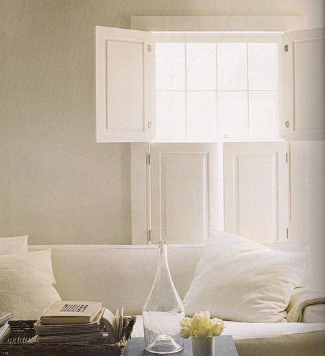 shutters - The Perfect Thing - Tricia Foley blog