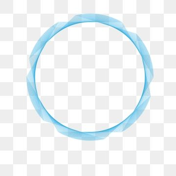 Simple Blue Round Tech Elements Technology Frames Technology Electronics Png And Vector With Transparent Background For Free Download