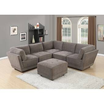 154 Sectional In 2020 Modular Sectional Sofa Fabric Sectional Sofas Modular Sectional
