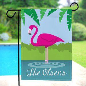 JFL166 Flamingo Beauty Garden Flag