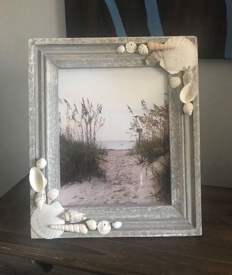Excited to share the latest addition to my #etsy shop: 8x10 Beach Frame, Shell Frame, Rustic Beach Frame #coastaltropical #8x10 #beachtheme #frame #pictureframe # beachframe #beachfecor #homedecor #buyme #forsale #beachlife #seashelldecor