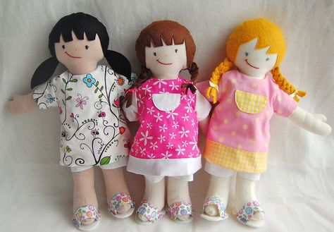 Free Fabric Doll Patterns | DOLL Patterns, Doll Sewing Patterns ...