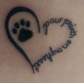 Tattoo Cat Memorial Google 65 Trendy Ideas Tattoo With Images Dog Tattoos Pet Memorial Tattoo Pawprint Tattoo