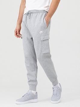 Nike Sportswear Club Fleece Cargo Joggers Dark Grey, Dark