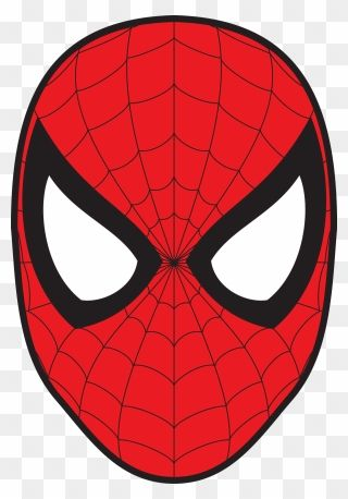 Spider Man Face Png Clipart Spiderman Face Spiderman Spiderman Birthday Party