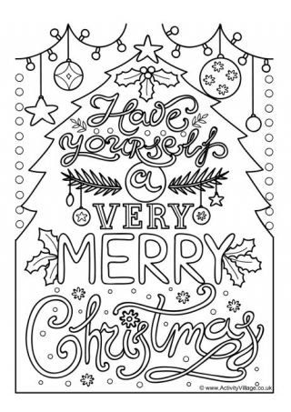 Very Merry Christmas Colouring Page Merry Christmas Coloring Pages Christmas Coloring Pages Christmas Colors