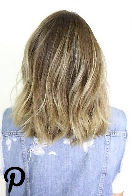 Pin On Hair And Beauty Frisuren Schulterlang Schulterlanges Haar Schulterlange Haare Frisuren