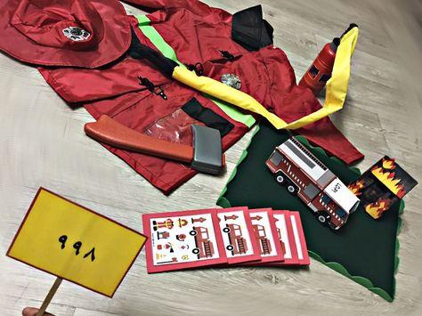 حلقة عن مهنة رجل الإطفاء Kindergarten School