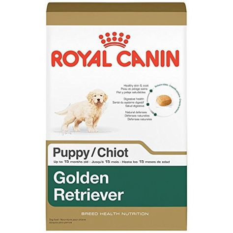 Royal Canin Breed Health Nutrition Golden Retriever Puppy Dry Dog Food 30pound More Info Cou Dry Dog Food Labrador Retriever Puppies Golden Retriever Adult