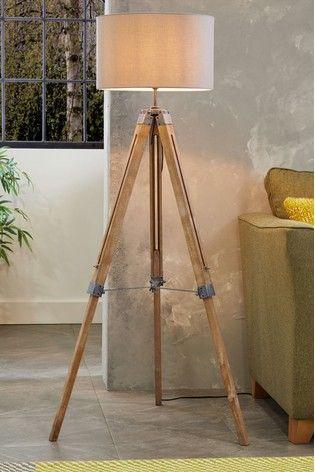 Alpine Tripod Floor Lamp In 2020 Tripod Floor Lamps Floor Lamp