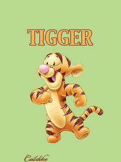 Animated Wallpapers Screensavers For Cellphones 240x320 Tigger Disney Tigger Animation
