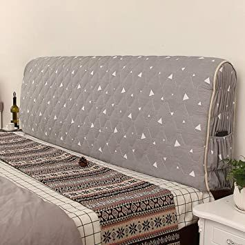New Stretch Dustproof Bedding Headboard Cover Head Bed Bedspread Slipcover New*