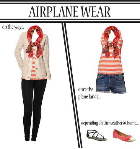 f71061103ac5 7 Things You should never Wear on a Plane. Outfit for travel on plane   travel  vacation  outfit