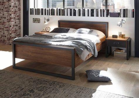 Home Affaire Bett Detroit In 3 Breiten In Angesagtem Industrial