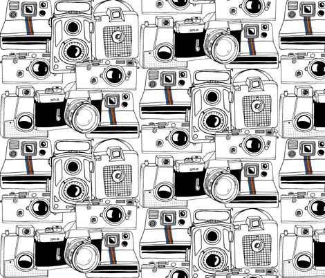 vintage_cameras fabric by maceymack on Spoonflower - custom fabric