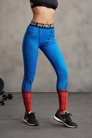 Superheroes 3d Printed Spiderman Compression Unisex Tight Fitness