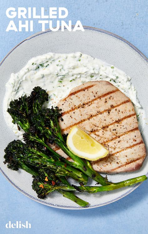 Grilled Ahi Tuna looks fancy—but it's actually foolproof.
