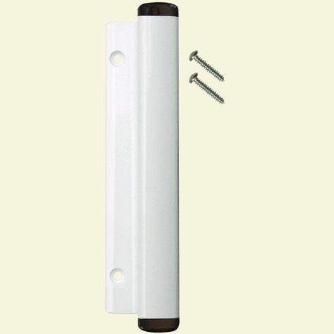 Black//White Double Bolt Sliding Door Lock LOCKiT
