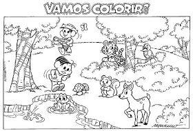 100 Desenhos Da Turma Da Monica Para Colorir Imprimir Ou Preparar