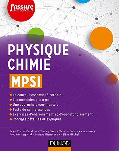 Telecharger Physique Chimie Mpsi Pdf Gratuitement Livre Ebook Amazon Books Audio Books