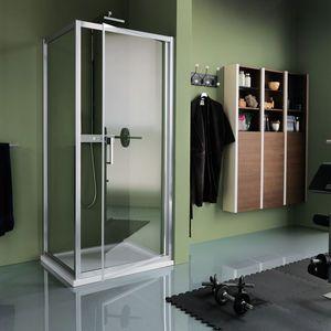 Sliding Shower Screen Corner Glass Samo In 2020 Sliding Shower Screens Shower Screen Corner Shower Enclosures