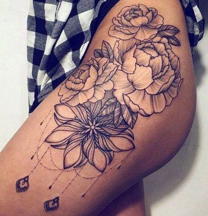 53 Trendy Ideas For Tattoo Ideas Female Thigh For Women Tattoo