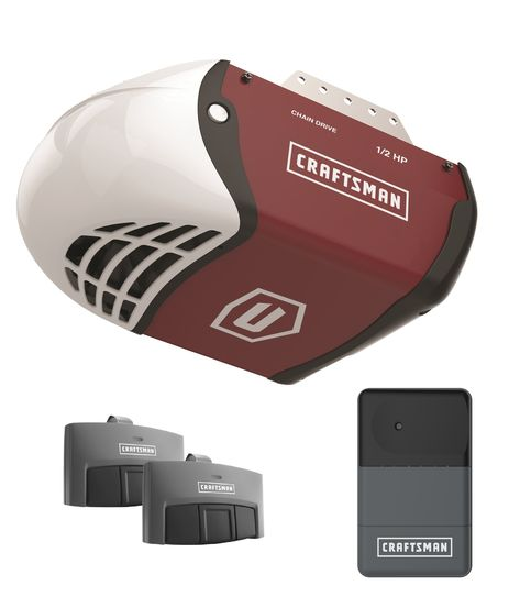 Craftsman 1 2 Hp Chain Drive Garage Door Opener Best Garage Door Opener Garage Door Opener Remote Best Garage Doors