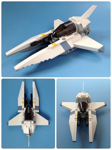 Vic Swoosher Mk2 #LEGO #space #starfighter