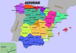 Resultado De Imagen Para Asturias Mapa Mapa De Espana