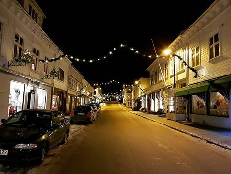 advent From downtown Risør....