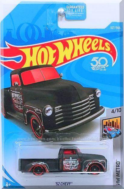 Hot Wheels 52 Chevy HW Metro 4//10 1:64 327//365 2018 Mattel