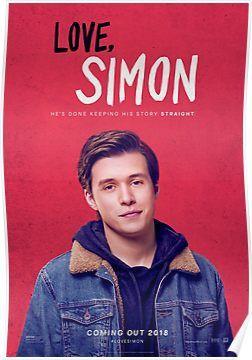 Love Simon 1 Poster By Eggo Shop In 2021 Simon Movie Love Simon Love Simon Movie