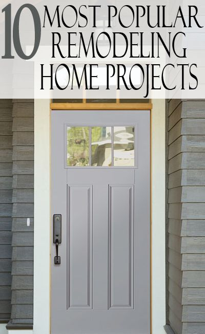 Top 10 Most Popular Remodeling Projects To Sell Your Home Home
