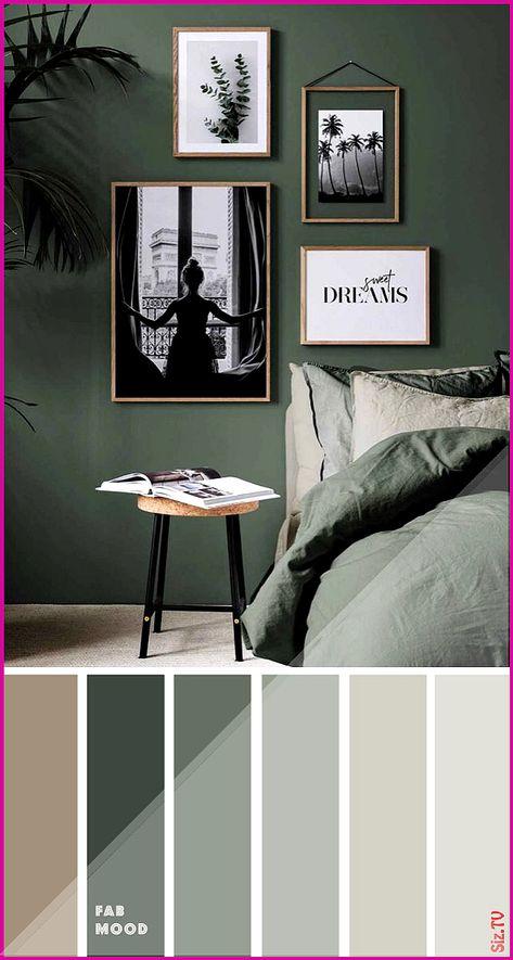 Grunes Schlafzimmer 15 Erdfarbene Farben Fur Schlafzimmer Gruntone