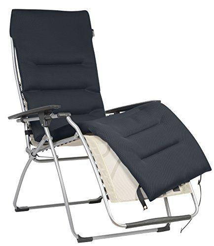Lafuma Lfm2604 7278 Surmatelas Rembourre Air Comfort Pour Fauteuil Relax Bout De Canape Design Fauteuil Relax Housse Salon De Jardin