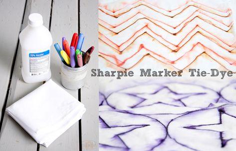 Sharpie Marker #TieDye