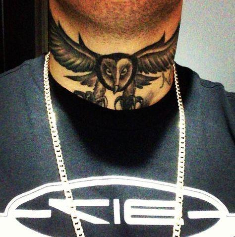 Nicky Jam Neck Tattoo Tatuajes Al Azar Nicki Jam Tatuajes