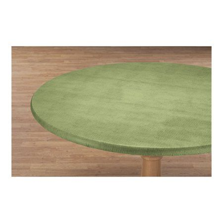 Illusion Weave Vinyl Elasticized Table Cover By Hsk 40 44 Dia Round Table Covers Round Table Covers Fitted Table Cover