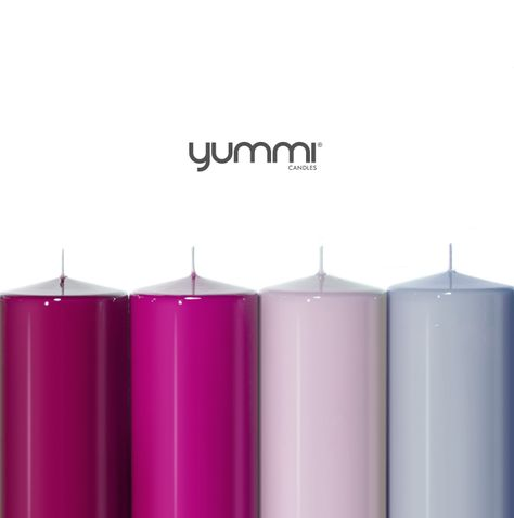 15% OFF All Gloss Pillar Candles! Use Code 15GS at checkout.  Shop Now at www.YummiCandles.com