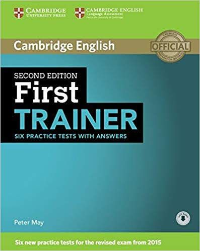 Pdf 3cd Cambridge English First Certificate Trainer Six Practice Tests With Answers 2nd Edition Libro Ingles Libros Para Aprender Idioma Extranjero