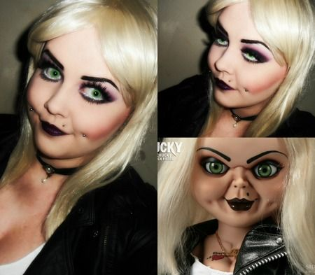 Halloween bride of chucky tiffany makeup tutorial shlemonade halloween bride of chucky tiffany makeup tutorial shlemonade costumescosplay pinterest halloween bride chucky and tiffany solutioingenieria Choice Image
