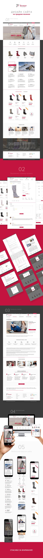 Online store design for Guslitskie