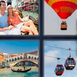 Venecia Globo Aerostatico 4fotos 1palabra Com 4 Fotos 1