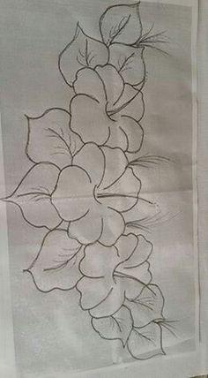 Riscos E Rabiscos Riscos Para Pintura Flores Pintadas E