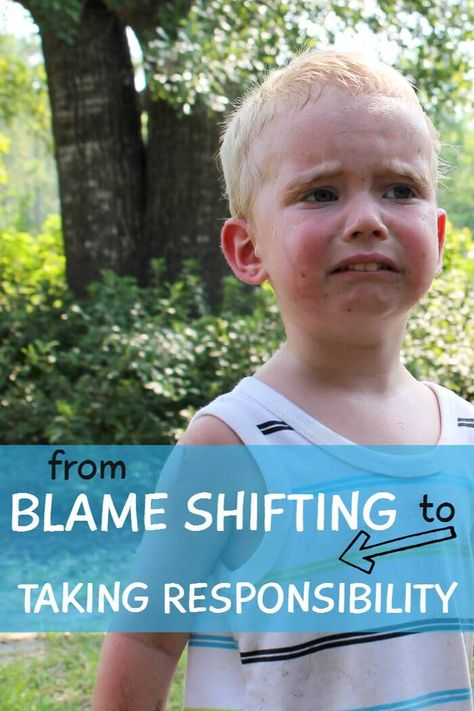 How to Get Your Kids To Accept Responsibility and Stop Blame Shifting
