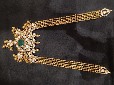 ball haram with pachi pendant