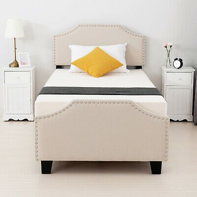 Sacramento Metal Bed Frame Twin Bronze Headboards For Beds