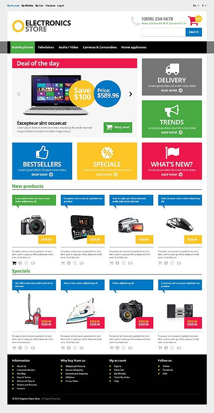 Myshop responsive drupal commerce theme by inspiromedia.