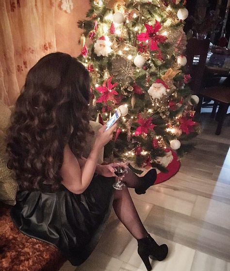 Sophisticated Christmas Tree: Christmas, Classy, Wine, Christmas Tree